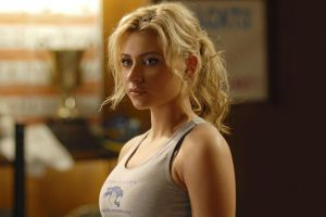 blonde actress women t-shirt alyson michalka