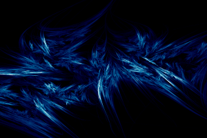 blue abstract digital art