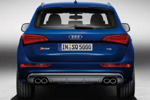 blue cars audi sq5 car
