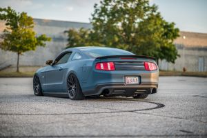 blue cars ford muscle cars vehicle car tuning