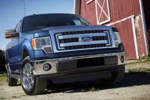 blue cars vehicle ford pickup trucks ford f-150 car
