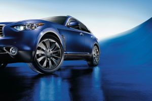 blue cars vehicle infiniti fx car