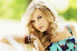blue eyes celebrity bracelets taylor swift blonde singer face