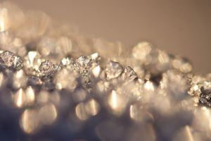 blurred background ice crystals crystal  ice