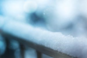 blurred background snowflakes winter snow