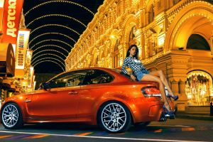 bmw car high heels women with cars jean shorts red cars model legs women