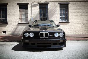 bmw m3  black bmw e30 car bmw project cars old car sports car