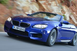 bmw m6 convertible blue cars