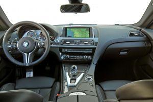 bmw m6 vehicle car coupe car interior bmw
