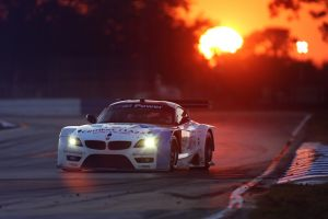 bmw z4 nurburgring race cars sunset