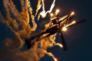 boeing apache ah-64d ah-64 apache flares military helicopters aircraft vehicle