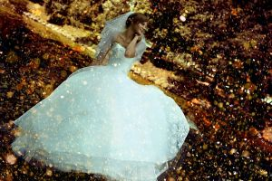 bokeh wedding dress bridal gown smiling brides women outdoors