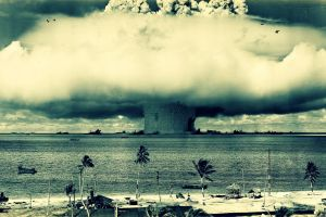 bomber explosion atomic bomb nuclear explosion bombs