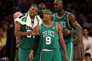 boston celtics men sport  sports nba kevin garnett boston basketball paul pierce rajon rondo brooklyn