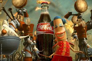 bottles 2006 (year) logo coca-cola