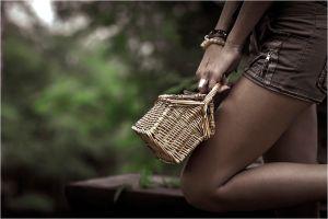 bracelets women legs hands baskets