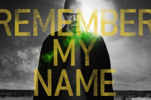 breaking bad typography walter white