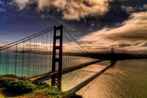 bridge usa san francisco color correction golden gate bridge
