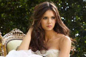 brunette actress women nina dobrev