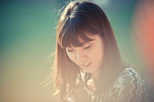 brunette asian model korean women