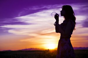 bubbles women outdoors sunset bubbles sunlight women