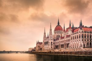 budapest river water hungary building gothic architecture bridge architecture europe hungarian parliament building