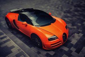 bugatti car orange cars bugatti veyron