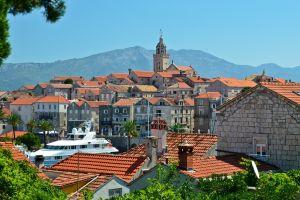 building rooftops croatia cityscape