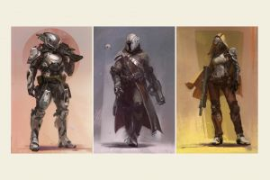 bungie artwork collage video games destiny (video game)