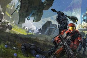 bungie halo spartans video games