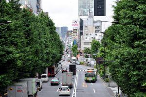 buses car city asia japan traffic