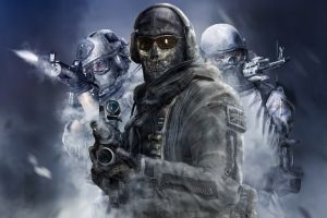 call of duty 4: modern warfare weapon soldier call of duty video games