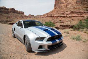 canyon vehicle rock ford mustang white car