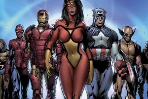 captain america iron man comics spider-woman wolverine spider-man ronin