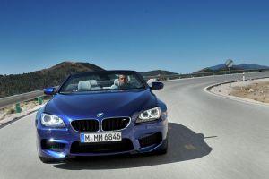 car bmw m6 convertible blue cars