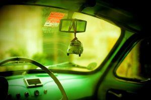 car car interior old car vehicle