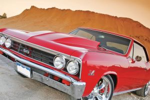 car chevrolet chevelle red cars vehicle chevrolet