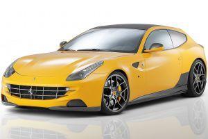 car ferrari ff yellow cars