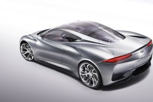 car infiniti emerg e concept cars vehicle silver cars