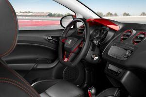 car interior car seat ibiza