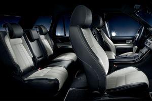 car interior range rover car suv