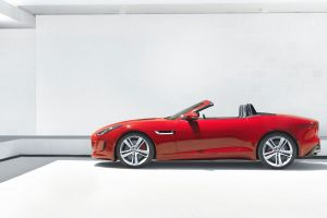 car jaguar f-type red cars vehicle