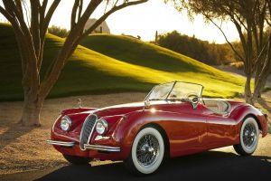 car old car jaguar