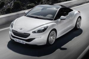car peugeot white cars vehicle peugeot rcz