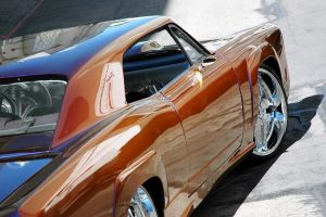 car reflection rims