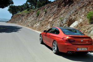 car road coupe bmw bmw m6 vehicle
