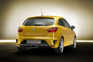car seat ibiza yellow cars concept cars