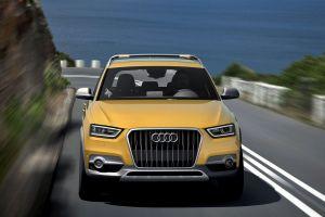 car suv audi audi q3 yellow cars
