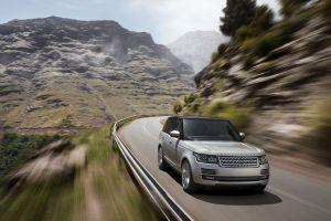 car suv range rover grey cars