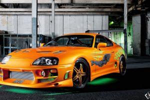 car toyota supra orange cars toyota vehicle